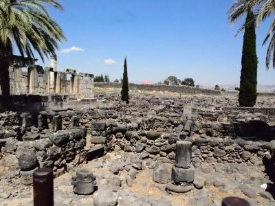 カファルナウム会堂跡