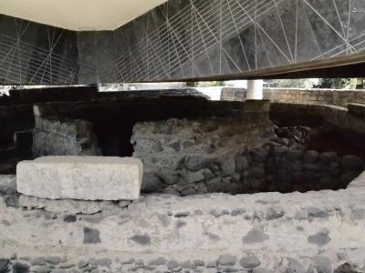カファルナウムシナゴーグ跡