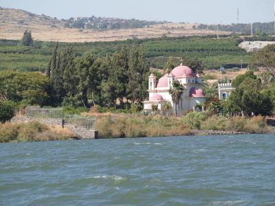 ガリラヤ湖畔ギリシャ正教会