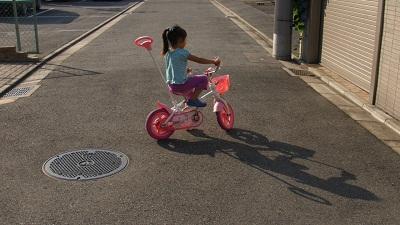 自転車のれたよ