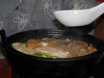 ひばり鍋焼きうどん原