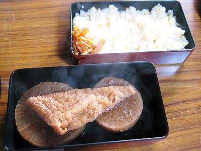 京都 三宝寺の大根焚き