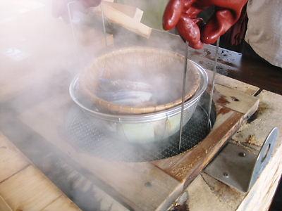 地獄蒸し工房 鉄輪