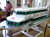 屋久島のトッピーの模型