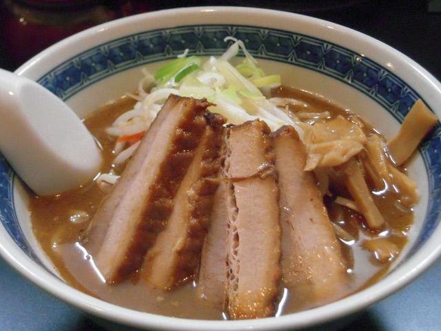 麺屋雷神_味噌ラーメン+チャーシュー