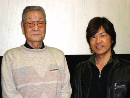 加藤精三さんと古谷徹さん