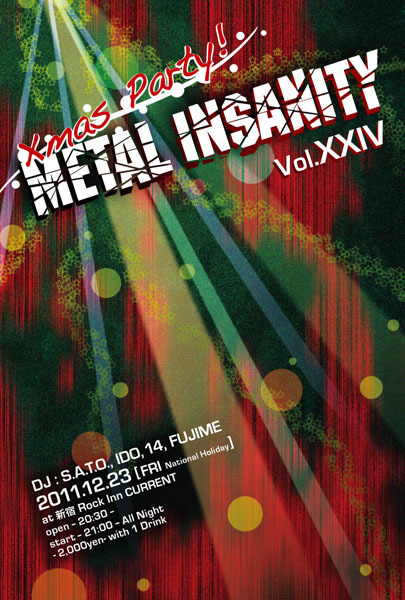 METAL INSANITY Vol.XXIV