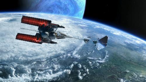 ISV-Venturestar反物質宇宙船