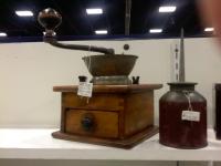 コーヒー豆挽き