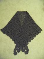かぎ針編み-モチーフショール1