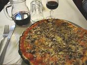 Pizzeria dal Paino きのこのピザ