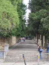 ミケランジェロ広場への階段