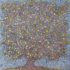 『金のなる樹』 クリックすると拡大画像 (部分) を表示。
