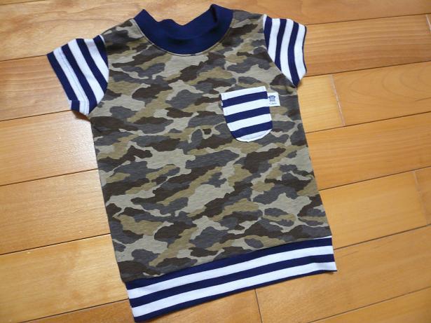 迷彩Tシャツ1