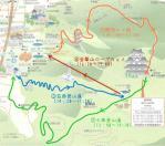 金華山観光案内所提供地図