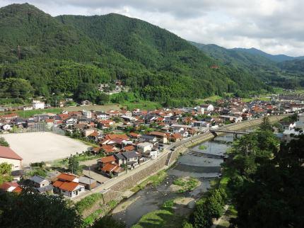 津和野の風景