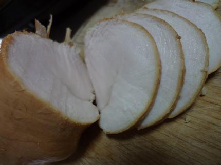 鶏ハムスモーク