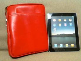 Red iPad Bag 2