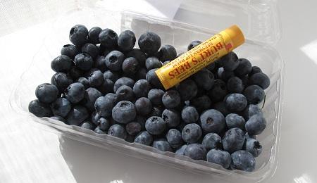藍莓大小比例