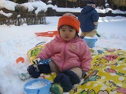 kaze lily 10年12月雪遊び 015