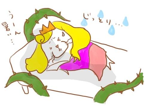 眠れぬ森の美女