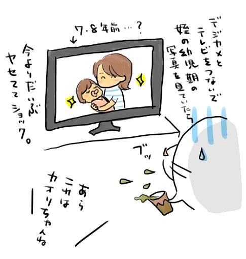 テレビ<br />でデジカメ