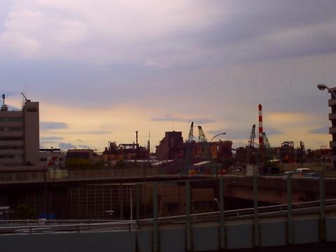 工事の風景