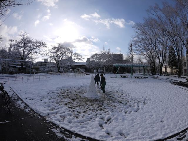 雪のセンター入試1