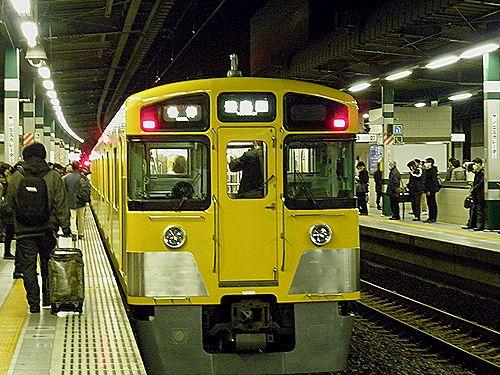 西武2503F・豊島線臨時運行4