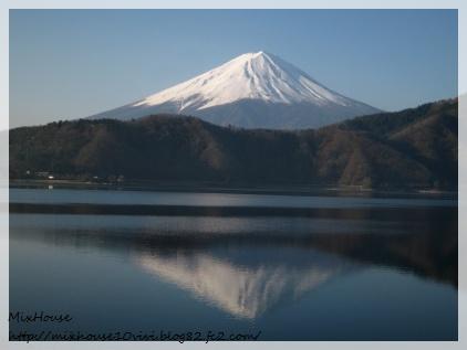 河口湖逆さ富士