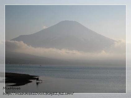 山中湖富士