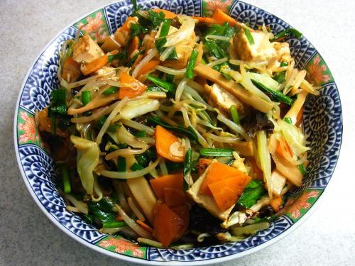 140913-231野菜と厚揚げの炒め(S)