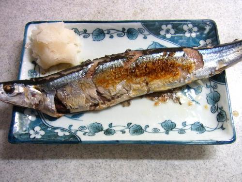 140928-211秋刀魚の塩焼(S)