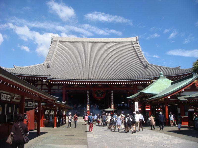 旧カメラで浅草寺