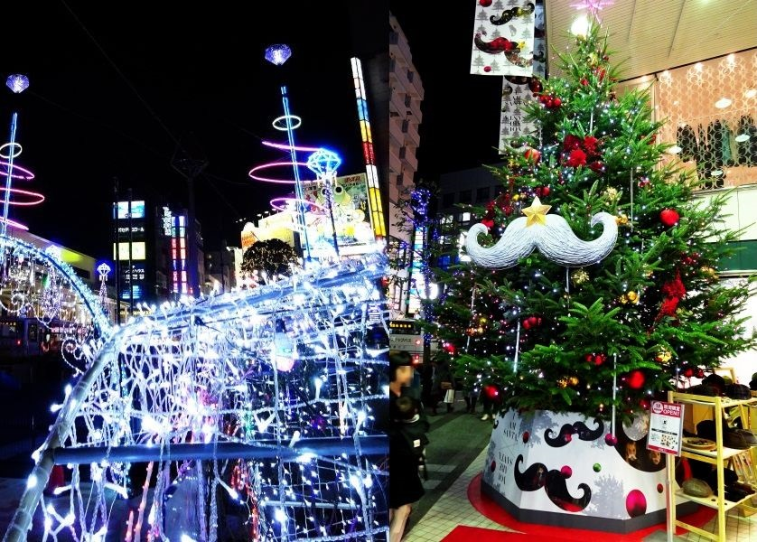 クリスマス模様の吉祥寺 2014
