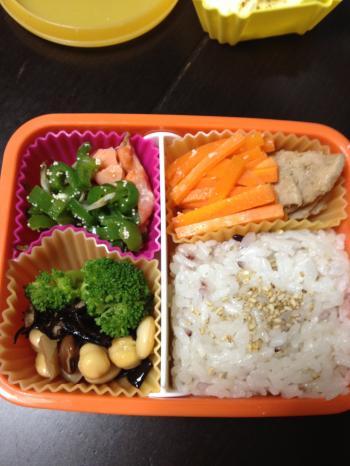満腹ダイエット1日目お昼ごはん