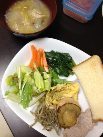 満腹ダイエット2日目晩御飯