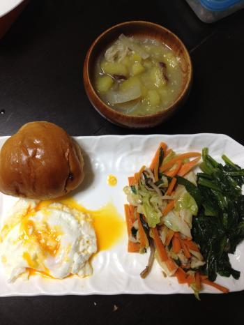 満腹ダイエット3日目朝ごはん