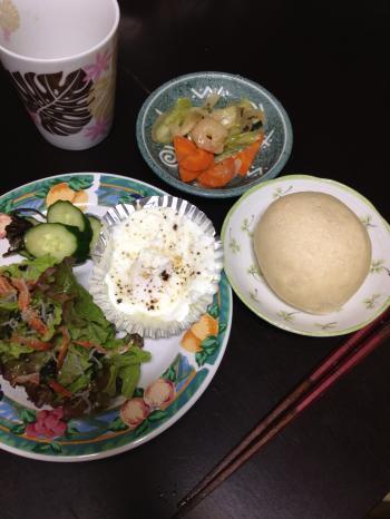 満腹ダイエット7日目朝ごはん