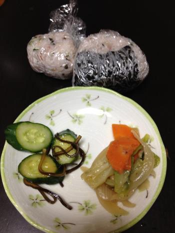 満腹ダイエット7日目昼ごはん