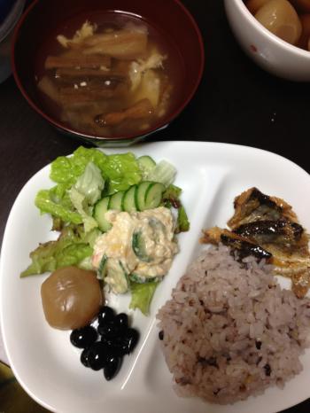 満腹ダイエット7日目晩御飯