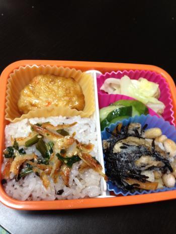 満腹ダイエット10日目の昼