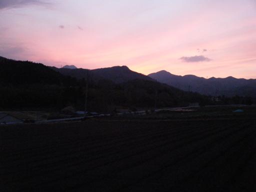 夕焼け20110415