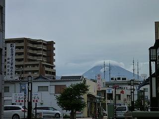 富士山 景観ポイント 三島 曇
