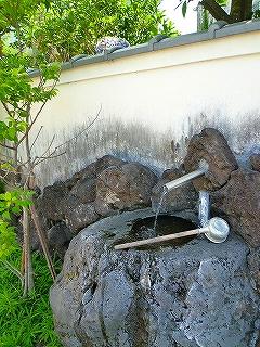 三島 水の仕掛け 水飲み場