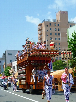 三島夏まつり 2011 山車 8月15日