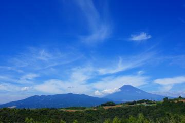 坂公民館 三島市 富士山