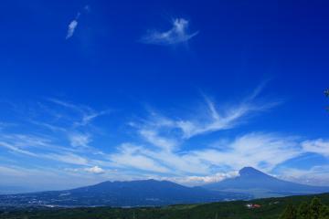 富士山 愛鷹山 山中城