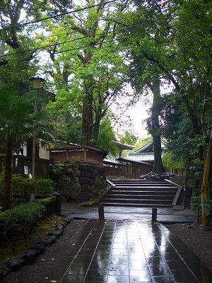 2011 三嶋大社 雨天