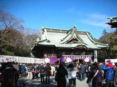 2012 三嶋大社 初詣